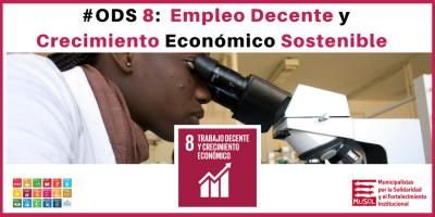 ODS 8: Empleo Decente y Crecimiento Económico Sostenible - Fundación MUSOL